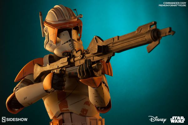 Commander Cody Premium Format™ Figure by Sideshow Collectibles