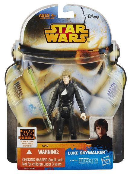 "Star Wars SAGA Legends 3 3/4"" Luke Skywalker Jedi Aktionsfigur"