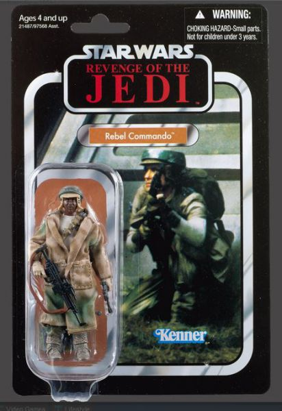 Star Wars Rebel Commando Figur Vintage Collection - Revenge (Return) Of The Jedi VC26
