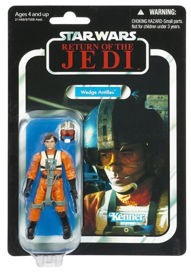 Wedge Antilles Rebel Pilot - Star Wars The Vintage Collection
