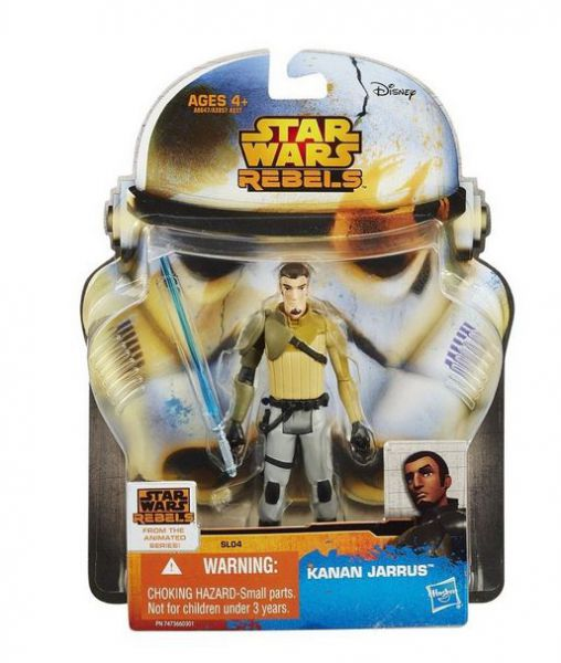 Star Wars Rebels Saga Legends Kanan Jarrus Figur