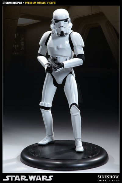 Star Wars: Stormtrooper Premium Format Statue, 50 cm Sideshow Collectibles 7180 - Star Wars: Stormtr
