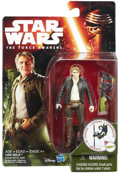 Star Wars The Force Awakens 3.75-Inch Figure: Han Solo
