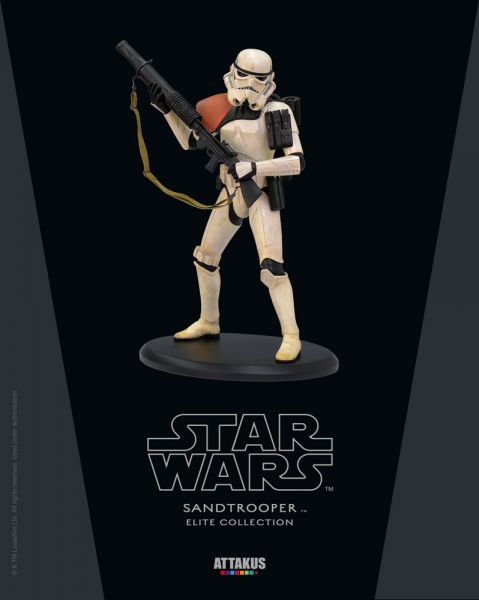 Star Wars Elite Collection Sandtrooper