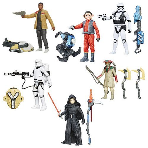 Star Wars VII Snow Desert Figures Wave 5 Case