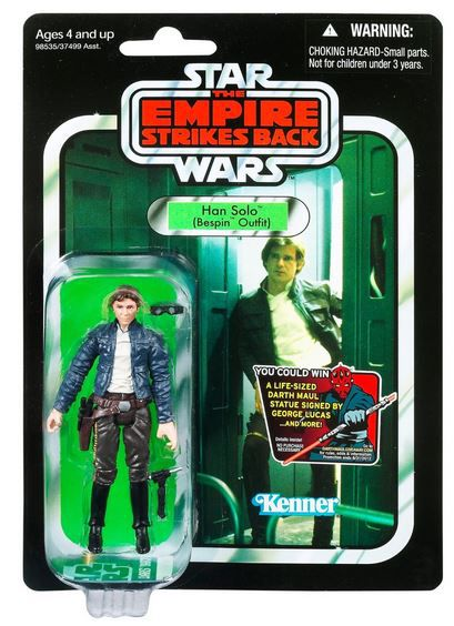 "Han Solo Bespin Outfit ""The Empire Strikes Back"" VC50 Star Wars The Vintage Collection"