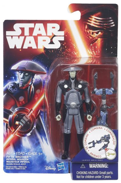 Star Wars Rebels 3.75-Inch Figure Fifth Brother Inquisitor