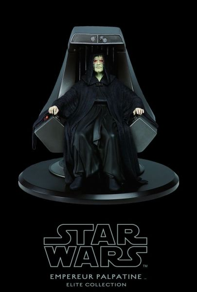 Star Wars - Elite Collection - Emperor Palpatine - Attakus limited 2000 pcs.