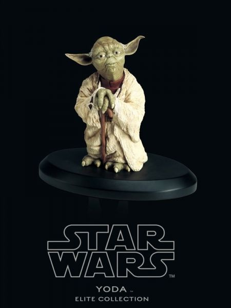 Yoda - Elite Collection Statue 1:10 - Star Wars Episode V The Empire Strikes Back 8 cm