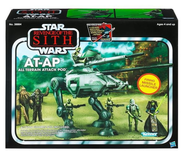 "Hasbro AT-AP Walker - All Terrain Attack Pod ""Revenge of the Sith"" Star Wars The Vintage Collection"