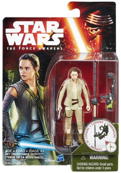 Star Wars The Force Awakens Rey Resistance Outfit Figur