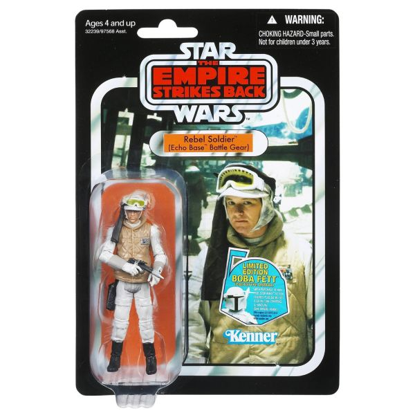 Star Wars The Empire Strikes Back Rebel Soldier Vintage Collection