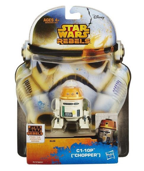 "Star Wars Rebels SAGA Legends 3 3/4"" C1-10P Droid Chopper"