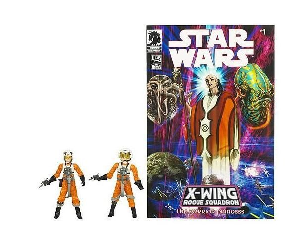 "Star Wars Legacy Collection 3 3/4"" Comic 2-Pack Dllr Nep and Plourr Ilo Action Figures"
