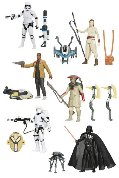 Star Wars Actionfiguren 10 cm 2015 Snow/Desert Wave 2