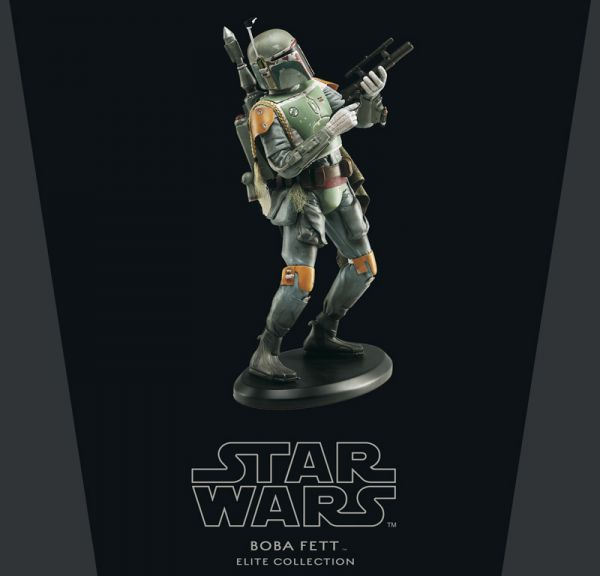Star Wars Elite Collection Boba Fett Statue