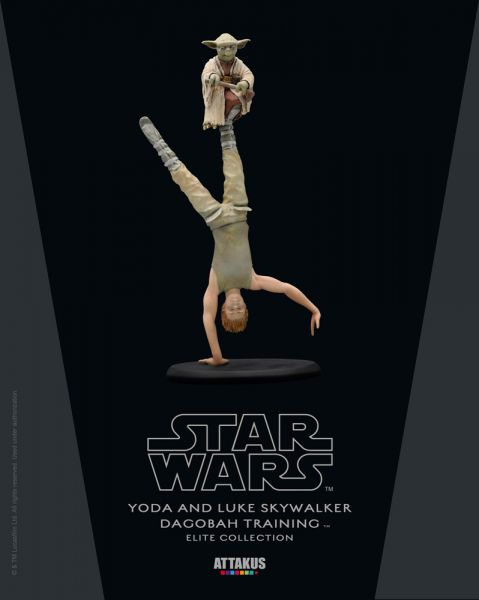 Star Wars Elite Collection Yoda & Luke Skywalker - Dagobah Training