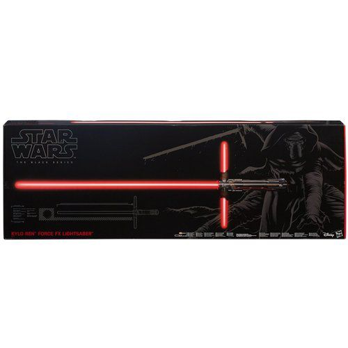 Star Wars Kylo Ren E7 Black Series Force FX Deluxe Lichtschwert